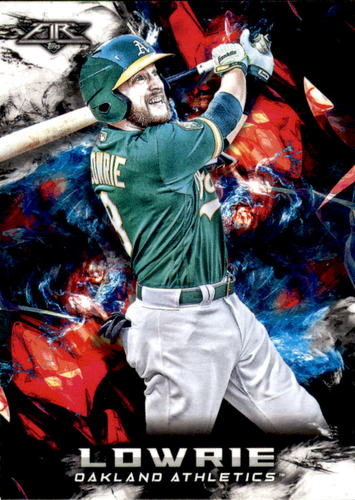 Photo of 2018 Topps Fire #156 Jed Lowrie