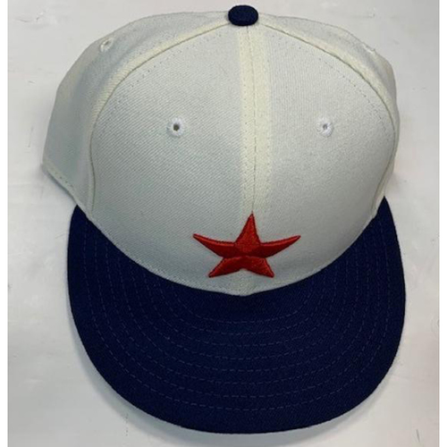Photo of Game-Used Detroit Stars Baseball Cap : #32