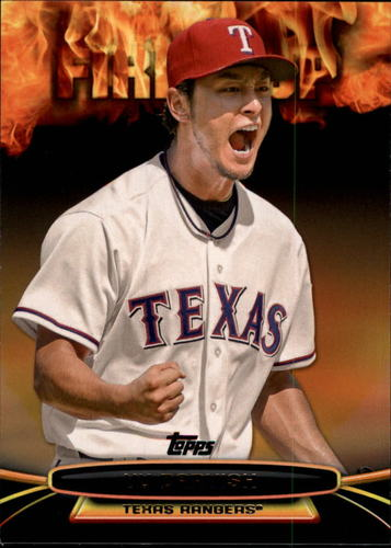 Photo of 2014 Topps Opening Day Fired Up #UP10 Yu Darvish