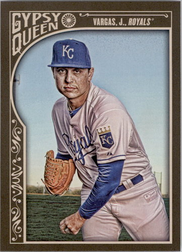 Photo of 2015 Topps Gypsy Queen #57 Jason Vargas