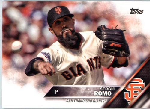 Photo of 2016 Topps #596 Sergio Romo