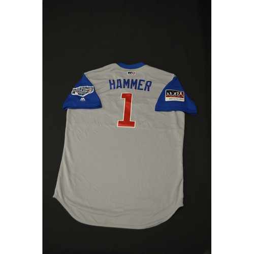 "Photo of 2019 Little League Classic - Game Used Jersey - Terrmel ""Hammer"" Sledge,  Chicago Cubs at Pittsburgh Pirates - 8/18/2019 (Size - 48)"