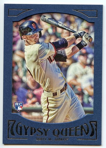 Photo of 2016 Topps Gypsy Queen Framed Blue #81 Matt Duffy