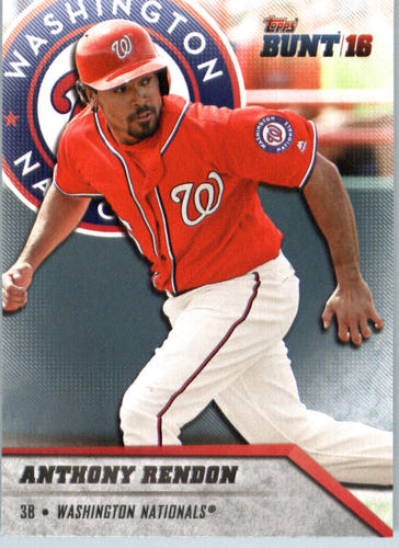 Photo of 2016 Topps Bunt #191 Anthony Rendon