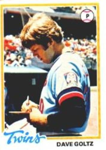 Photo of 1978 Topps #249 Dave Goltz DP