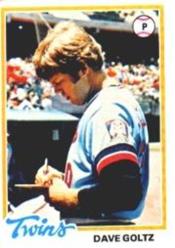 Photo of 1978 Topps #249 Dave Goltz DP