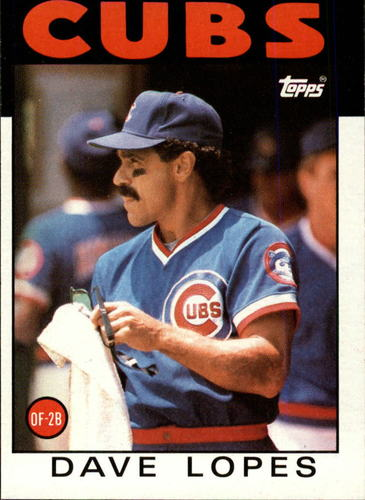 Photo of 1986 Topps #125 Dave Lopes