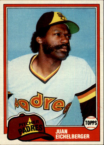 Photo of 1981 Topps #478 Juan Eichelberger RC