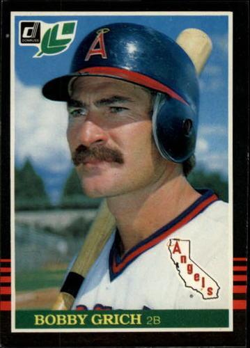 Photo of 1985 Leaf/Donruss #88 Bobby Grich