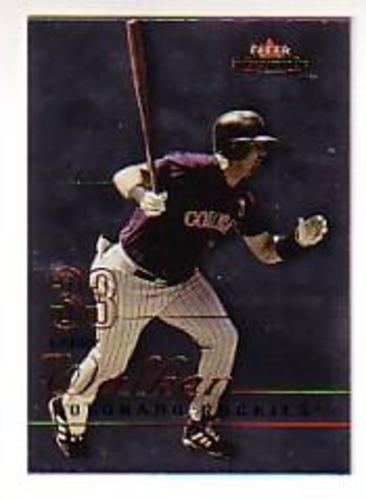Photo of 2003 Fleer Mystique #33 Larry Walker
