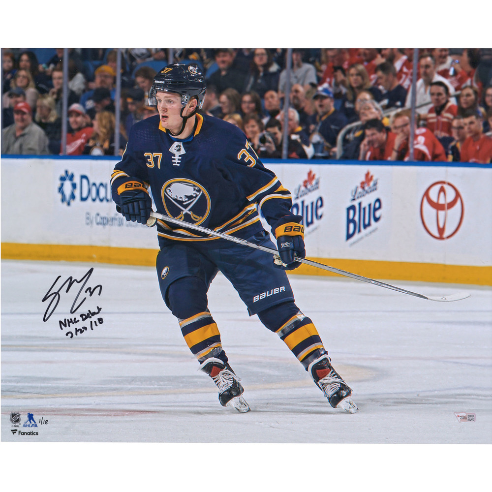 Casey Mittelstadt Buffalo Sabres Autographed 16