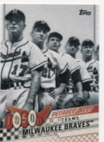 Photo of 2020 Topps Decades' Best Series 2 #DB8 Milwaukee Braves