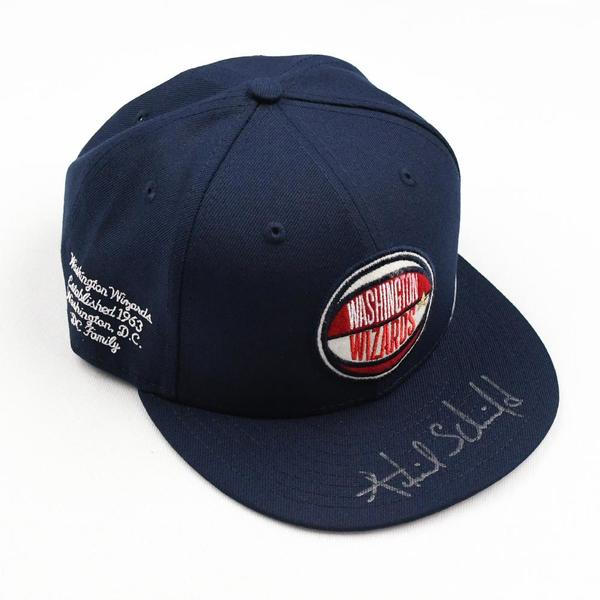 Image of Admiral Schofield - Washington Wizards - 2019 NBA Draft Class - Autographed Hat