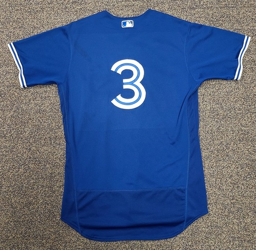 Photo of Authenticated Team Issued 2020 Spring Training Jersey: #3 Brandon Drury. Size 44