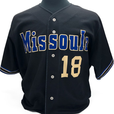 Kristian Robinson Game Worn Road Jersey - #18
