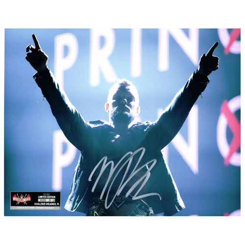 Finn Balor SIGNED WrestleMania 37 Exclusive 8x10 Photo (Random Number)