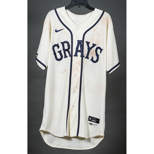 Photo of Game-Used Homestead Grays Jersey - Colin Moran - PIT vs. STL - 8/27/2021
