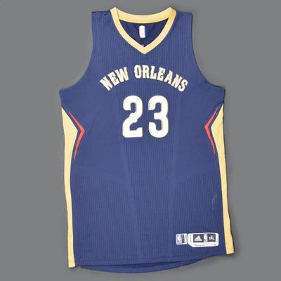 Anthony Davis New Orleans Pelicans Game Worn Jersey