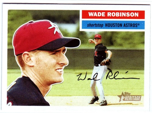 Photo of 2005 Topps Heritage #309 Wade Robinson RC