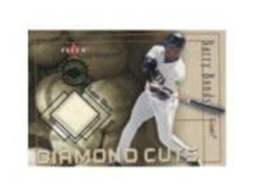 Photo of 2001 Fleer Authority Diamond Cuts Memorabilia #6 Barry Bonds Jsy/1000