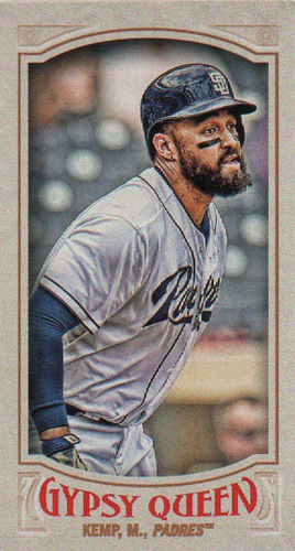 Photo of 2016 Topps Gypsy Queen Mini #54 Matt Kemp