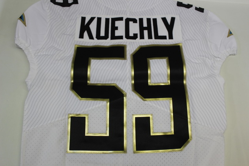 sports shoes 701df a2108 NFL Auction | NFL - PANTHERS LUKE KUECHLY 2016 TEAM RICE ...