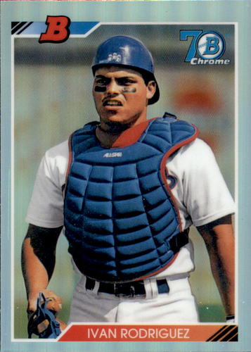 Photo of 2017 Bowman Chrome '92 Bowman Refractors #92BIR Ivan Rodriguez
