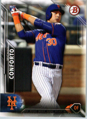 Photo of 2016 Bowman #131 Michael Conforto Rookie Card