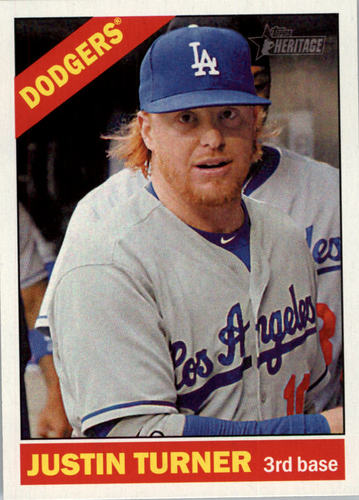 Photo of 2015 Topps Heritage #55 Justin Turner