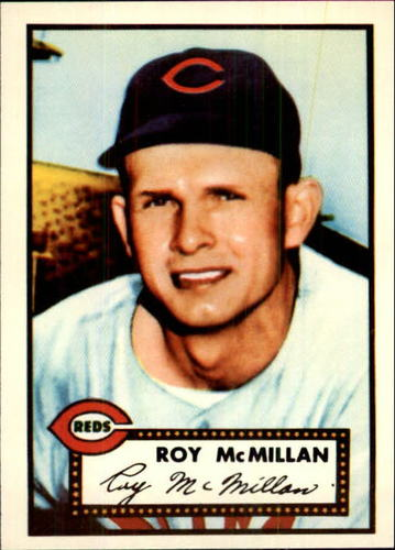 Photo of 1983 Topps 1952 Reprint #137 Roy McMillan