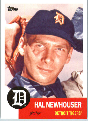 Photo of 2016 Topps Archives #36 Hal Newhouser -- Hall of Fame Class of 1992