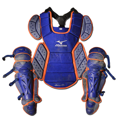 Photo of Team Issued Catcher's Gear - 2018 Season