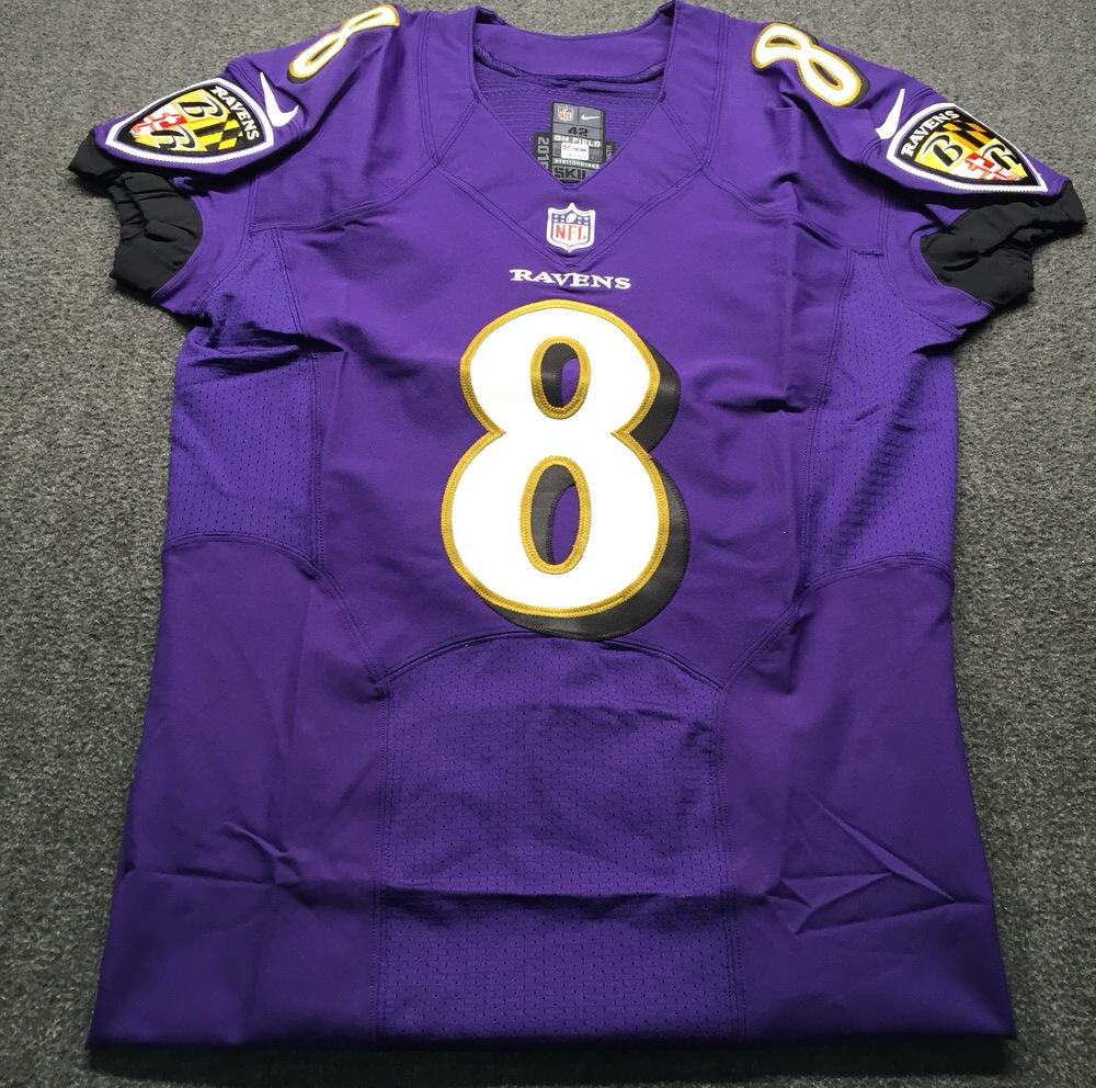 free shipping bc39c 130c0 NFL Auction | NFL - Ravens Lamar Jackson Signed Authentic ...