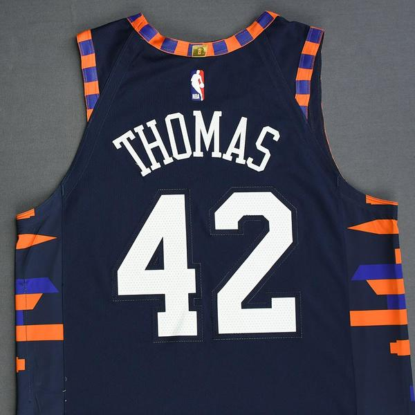 Lance Thomas - New York Knicks - Christmas Day  18 - Game-Worn 2nd ... 53f917eed