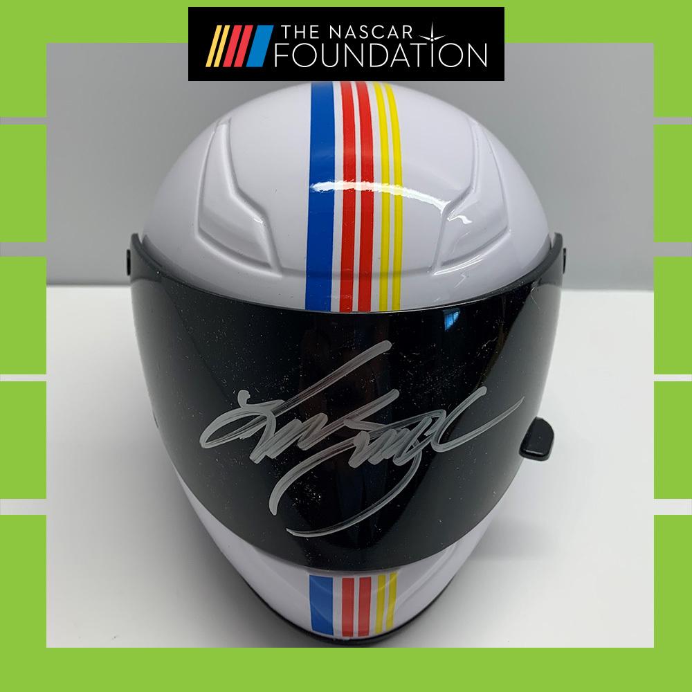 NASCAR's Kurt Busch Autographed Helmet!
