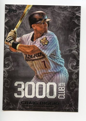 Photo of 2016 Topps Update 3000 Hits Club #3000H14 Craig Biggio