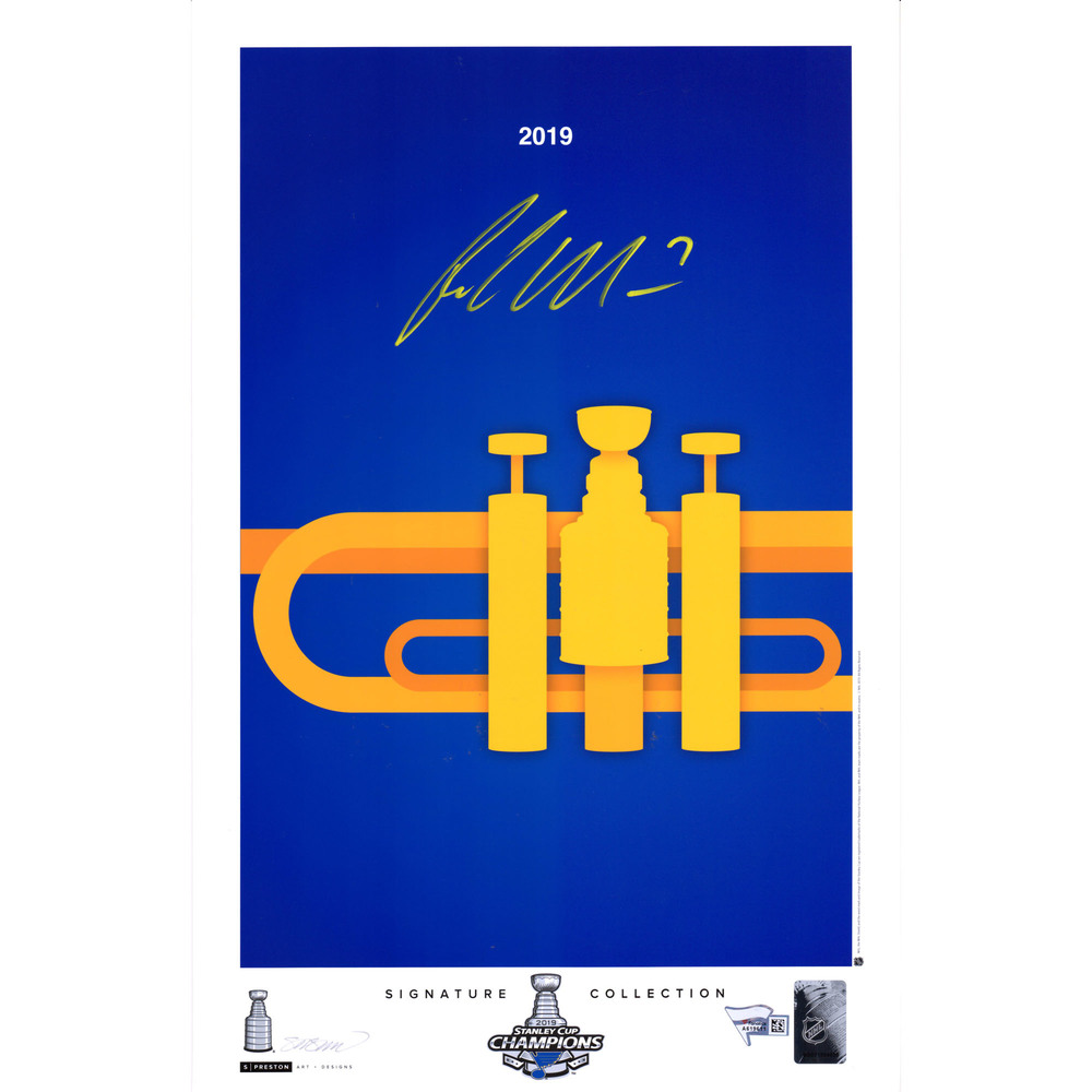 Patrick Maroon St. Louis Blues 2019 Stanley Cup Champions Autographed 11
