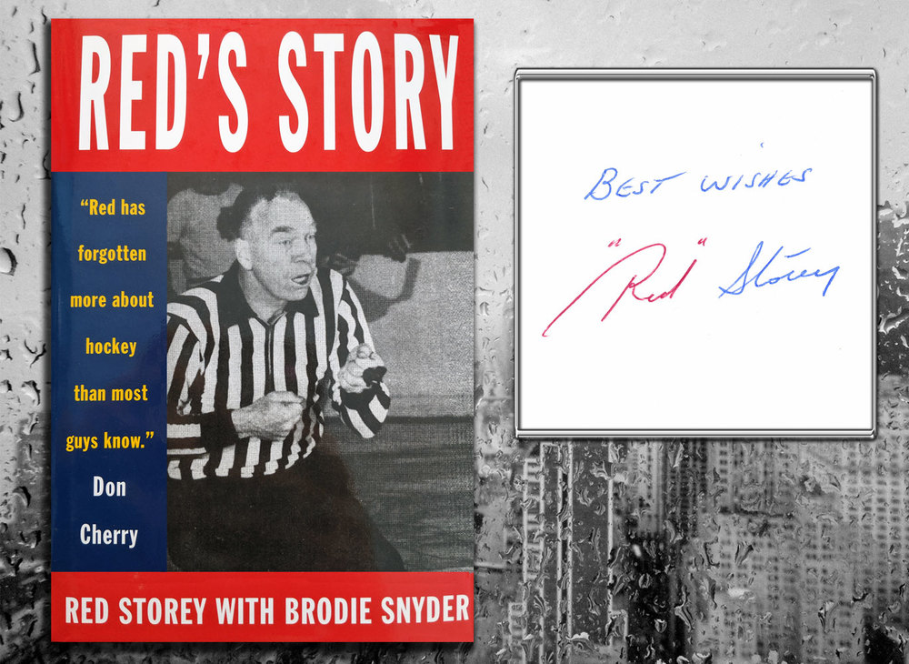 Red Storey RED'S STORY Signed Hardcover Book