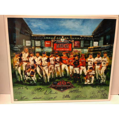 Photo of 20th Anniversary Team Autographed Canvas Print