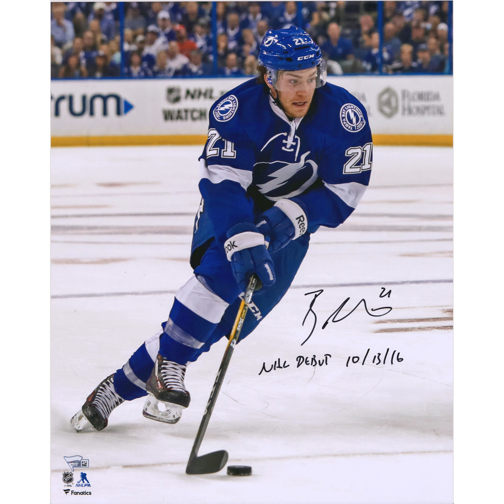 Brayden Point Tampa Bay Lightning Autographed 16