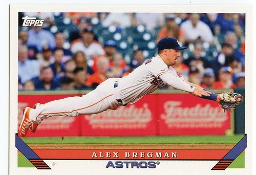 Photo of 2019 Topps Archives #276 Alex Bregman