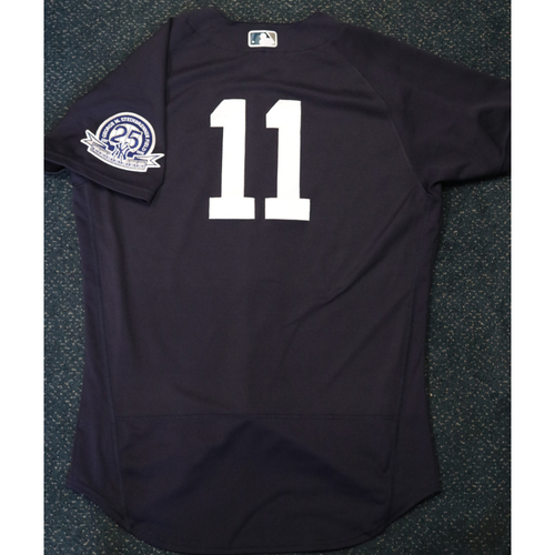 Photo of Team-Issued Spring Training Jersey - Brett Gardner - #11 - Jersey Size - 44