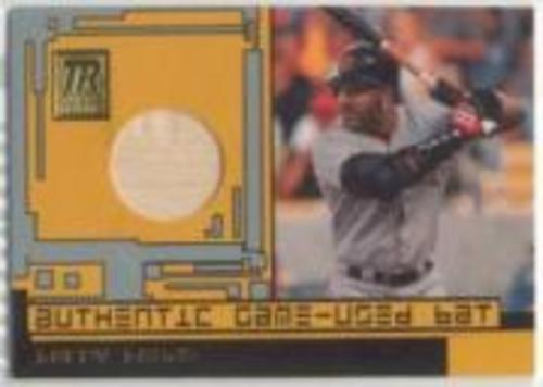 Photo of 2001 Topps Reserve Game Bats #TRRBBI Barry Bonds