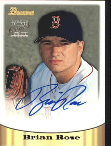 Photo of 1998 Bowman Certified Silver Autographs #32 Brian Rose