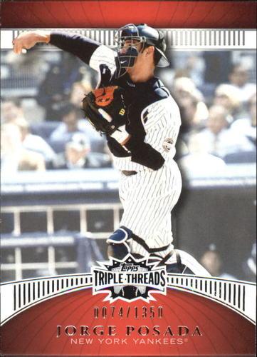 Photo of 2010 Topps Triple Threads #39 Jorge Posada