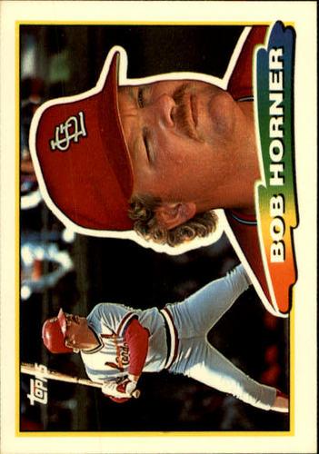 Photo of 1988 Topps Big #245 Bob Horner