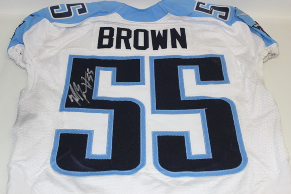 signed titans jersey