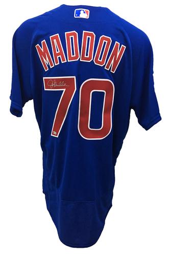 Joe Maddon Autographed Jersey: Size - 48