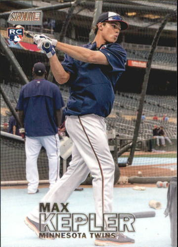 Photo of 2016 Stadium Club #127 Max Kepler  Rookie Card