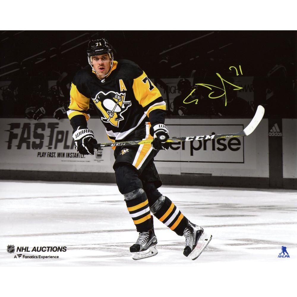 Evgeni Malkin Pittsburgh Penguins Autographed 8